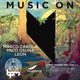 Marco Carola - BPM Festival 2016 (Music On, Blue Parrot) - 10-01-2016