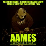 AAMES Live @ The E-SCALATION RADIO SHOW dnbradio.com 03.10.2015
