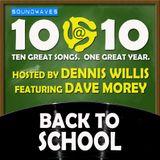 Soundwaves 10@10 #217: Back to School