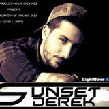 GeoAngello pres.House Evenings @ LightWave Radio | Special Guest Show by Sunset Derek