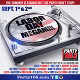 Johnny Seriuss - Party 105.3 Labor Day Weekend Mix 2018