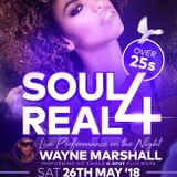 Soul 4 Real live recording 26th May 2018 @ Suede, Walsall