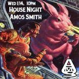 DJ Amos Live at NattSpil - House Night January 2015 - uncut