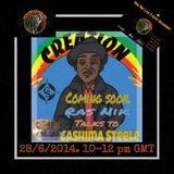 Cashima Steele interview.. liberated radio..
