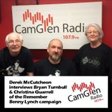 Derek McCutcheon interviews Bryan Turnbull & Christina Quarrell o/t Benny Lynch campaign, 21/03/2017