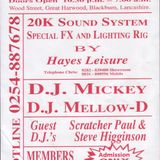 MONROES, DJ'S MICKEY ,NEIL,DARYL@ MELTDOWN MAY 91 SIDE A
