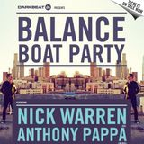Anthony Pappa - Balance Boat Party, Melbourne (2014-04-04)