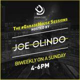 Joe Olindo #GarageHouse Sessions for Urban Dubz (Sunday 13th May 2018)