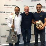 Special Feature Ajay and Vinod with me at BBC Surrey