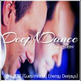 DeepNDance Episode 053 [ENERGY DEEJAYS] @ Elixir Radio (GR) [09/04/17]