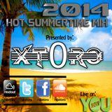 Hot Summertime Mix 2014 - DJXT0RO