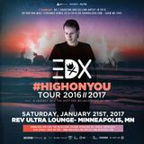 EDX #HIGHONYOU Tour: CΛLEB JΛMES Opening Set @ REV Ultra Lounge, MPLS