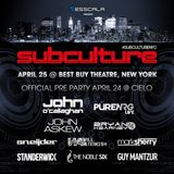 Pure NRG (Giuseppe Ottaviani & Solarstone) – Live @ Subculture, Best Buy Theater New York, USA