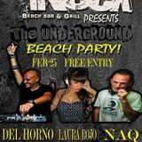 Naq at The Rock Beach Bar Koh Tao Thailand 25Feb 2016