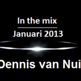 Januari Mix 2013 - Mixed by Dennis van Nuil