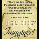 The Real Presence of Jesus in the Blessed Sacrament, Badly Bruised and Bloodied