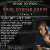 BACK CORNER RADIO: Episode #287 (Sept 7th 2017)