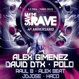 Dj Alex Gimenez 4 Aniversario Save The Rave 1 2 2014 Remember 2000 2005