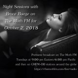 Night Sessions on The Moth FM for October 2, 2018