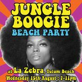 Recording from Jungle Boogie party @ La Zebra, Tulum - 15.8.12