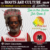 A Special around Max Romeo and Fiyah Nation Band + Jah Revo