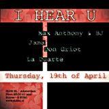I Hear U - Max Anthony & BJ (back2back)