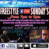 Freestyle Sunday with Dj Larry Vee, Dj Flash and the Amazing La Nena EP 23 September 25, 2016