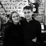 Simkin with Anna - Feb 2017