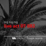 Nig Nig Nig - Live Act 07 002 - 040611