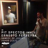 Pit Spector Invite Ernesto Ferreyra - 30 Juillet 2016