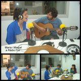 Maria Arnal i Marcel Bagés a Ràdio Flix