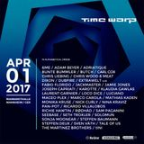 Adam Beyer - Live @ Time Warp (Mannheim, Germany) - 01.04.2017