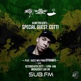 Aems ft. Cotti & Dynamix - SubFM - Show 012 - 09_10_2017