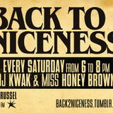 Back To Niceness 15/10/11