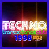 Mix Techno 1998 - #02 - 50 tracks - 133 Bpm - 2018/10