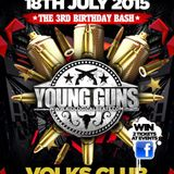 DJ DIDZ. YOUNG GUNS 3RD BIRTHDAY COMP ENTRY