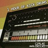 1 hour of kick drums mixed by Cave Sedem