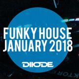 Best Funky House / Jackin' House Mix ◾January 2018 ◾ DJ DIIODE