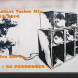 Latest Techno Mix 03/2014 |- 1:06h -| progressive live Set by DJ Padgroove