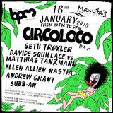 MATTHIAS TANZMANN b2b DAVIDE SQUILLACE - CIRCOLOCO @ MAMITA´S, THE BPM FESTIVAL - 16 / 1 / 2015