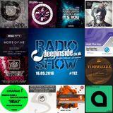 DEEPINSIDE RADIO SHOW 112 (Mike City Artist of the week)