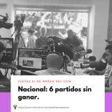 Nacional: 6 partidos sin ganar.