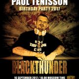 HARDFORCE UNITED RADIO pres. Paul Tenisson B-Day Party 2017 #BlackThunder (Techno)