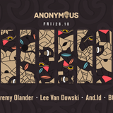 Jeremy Olander @ Anonymous 6 Years Anniversary Bucharest 28-10-2016