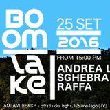 *Andrea Leme* Boom Lake (open air party) 25-09-2016