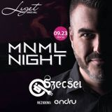 2016.09.23. - MNML Night, Liget Dance Hall, Eger - Friday