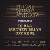 Live from AC Lounge (San Diego) 09-February-2018 - DJ ALA
