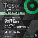 C.7even @ New Faces - Tresor Berlin - 03.04.2013