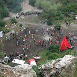 Rókahegyi kőfejtő 2002 május 25. - Görgő