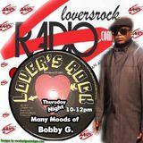 Bobby G on your Radio Loversrockradio.com thursday night 17-7-14